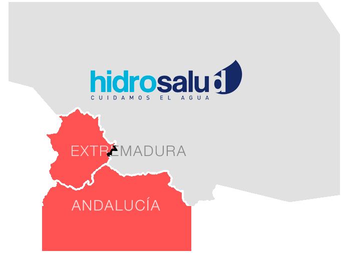 Mapa de España - Distribuidor Oficial de Hidrosalud