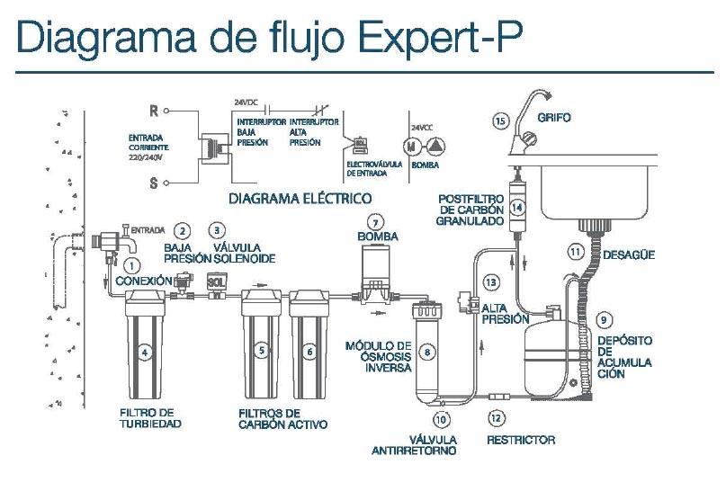 Diagrama de flujo Expert-P