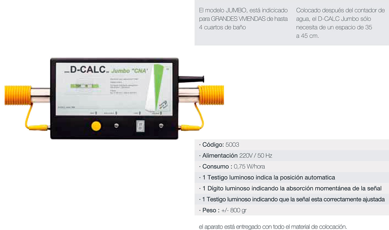 D-CALC Jumbo